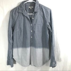 J. Crew Long Sleeve 3/4 Button Up Size 4